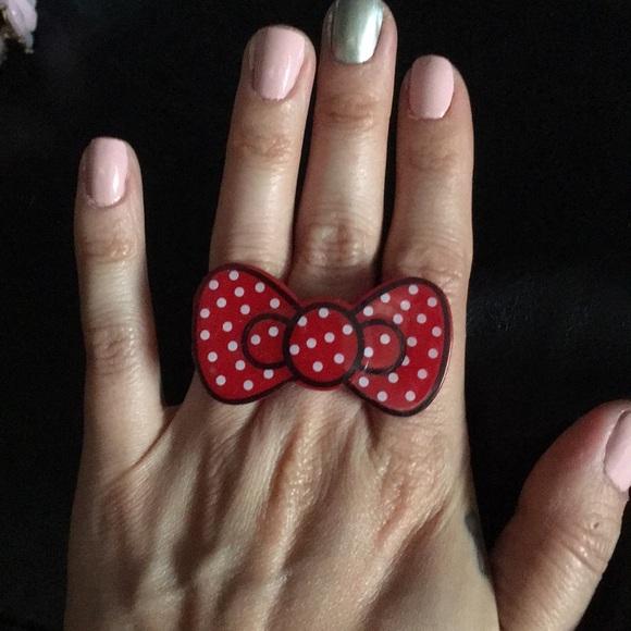 2ab6f87e4 Hello Kitty Jewelry | Buy 1 Get 1 Free Bow Ring | Poshmark